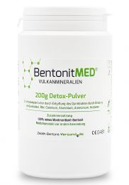 Bentonite MED® detox powder 200g, Medical device