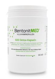 Bentonite MED® 600 detox capsules, Medical device