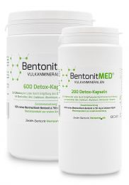 Bentonite MED® 800 detox capsules savings stack, Medical devices