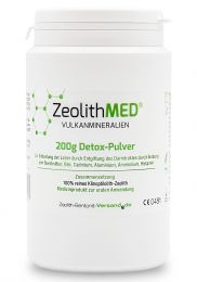 Zeolite MED® detox powder 200g, Medical device