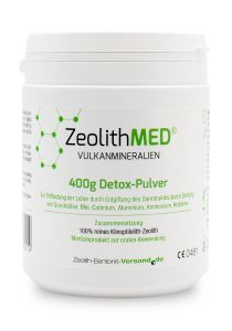 Zeolite MED® detox powder 400g, Medical device