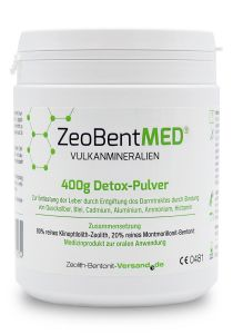 ZeoBent MED® detox powder 400g, Medical device